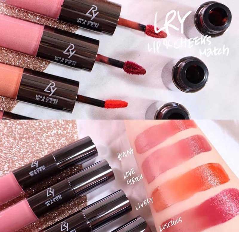 01 LRY Lips & Cheeks Match ฟรี (คละสี)