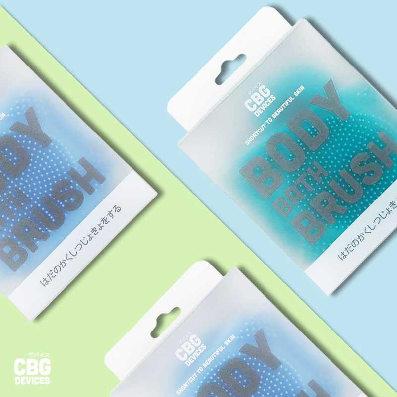 01 CBG Devices Body Bath Brush (Green)