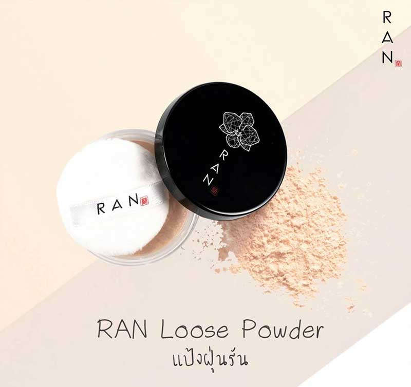 02 RAN Loose Face Powder 5 g #01Ivory