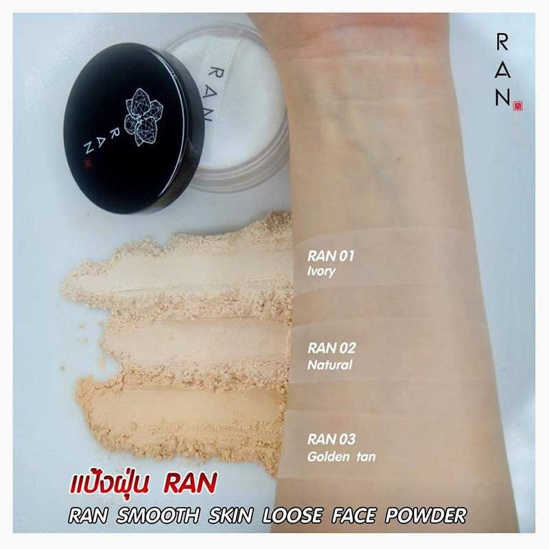 05 RAN Loose Face Powder 5 g #01Ivory