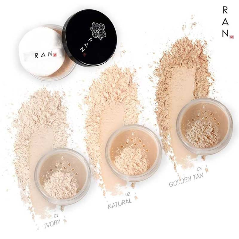 06 RAN Loose Face Powder 5 g #01Ivory