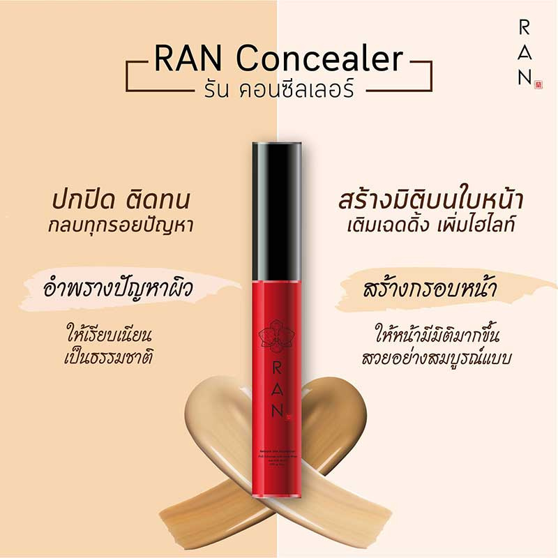 02 RAN Foundation&Concealer SPF20 3 ml #00