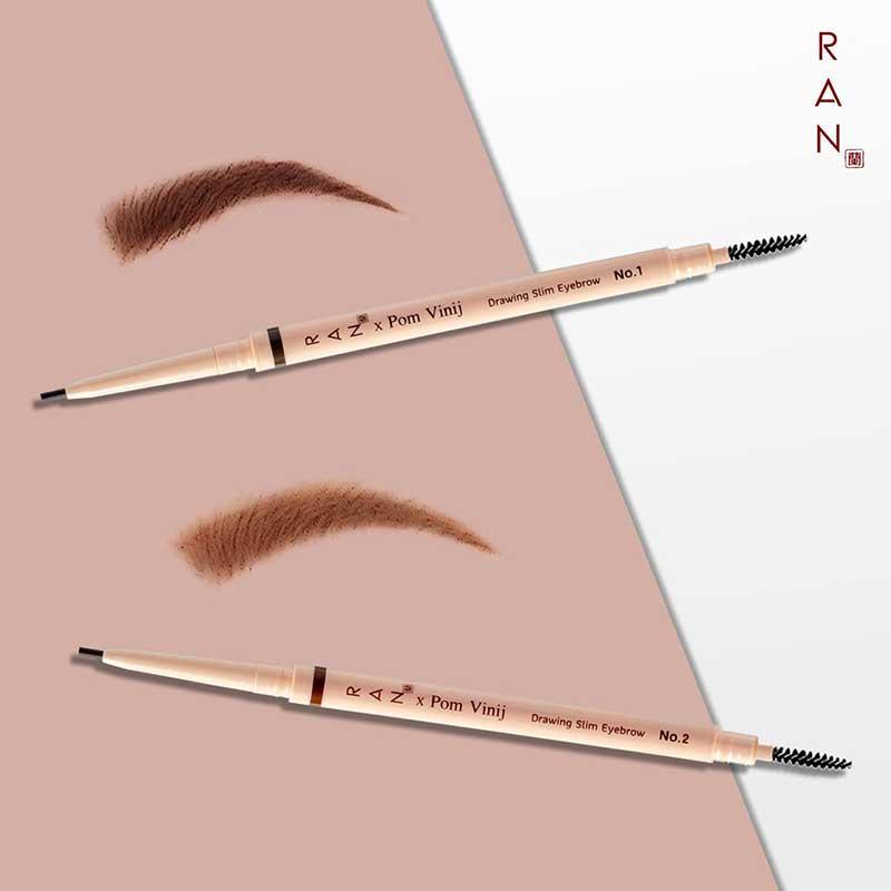 04 RAN Slim Eyebrow 0.05 g #01 Brown