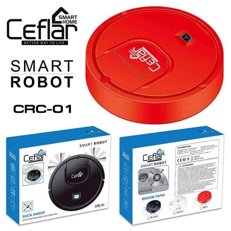 Ceflar หุ่นยนต์ดูดฝุ่น รุ่น CRC-01