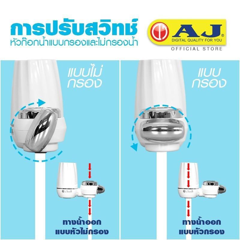 AJ เครื่องกรองน้ำก๊อกน้ำ รุ่น WP-002