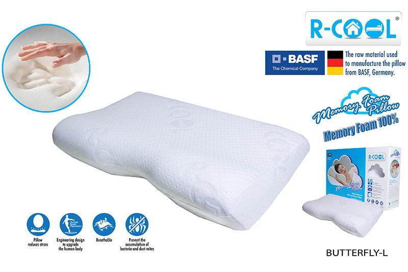 R-COOL หมอนหนุนทรงผีเสื้อ ขนาดใหญ่ รุ่น Butterfly Pillow (Large)