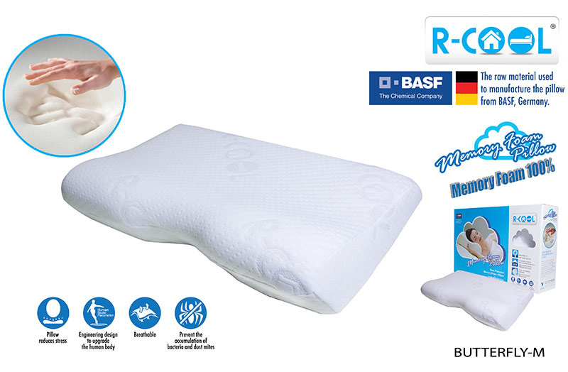 R-COOL หมอนหนุนทรงผีเสื้อ ขนาดกลาง รุ่น Butterfly Pillow (Medium)