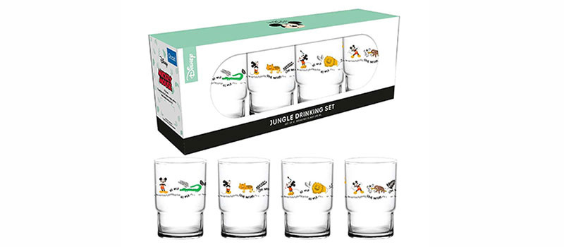 Ocean JUNGLE DRINKING GLASS แก้วน้ำ SET I