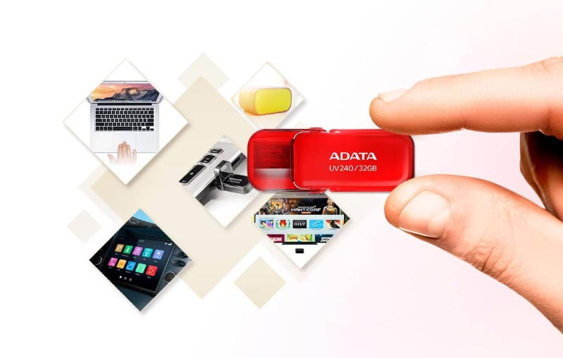 ADATA แฟลชไดร์ฟ UV240 USB 2.0 16 GB