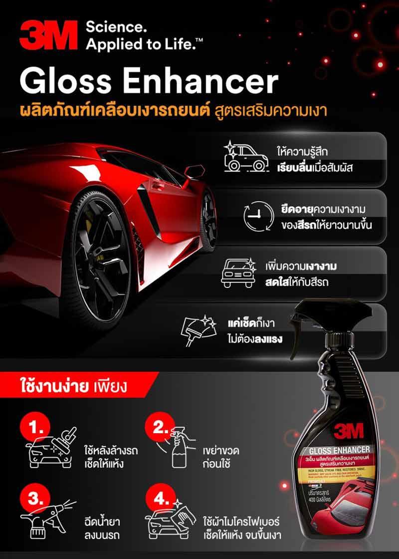 3M ชุดผลิตภัณฑ์ดูแลรักษารถยนต์ ชุดสุดคุ้ม