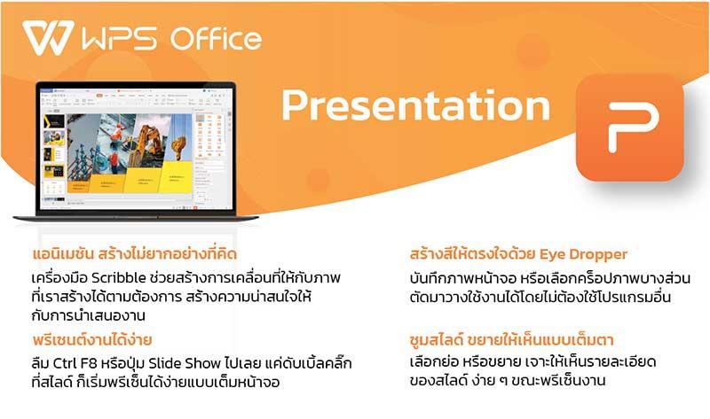 WPS ชุดโปรแกรมออฟฟิศ Smart Kit + PDF EDITOR