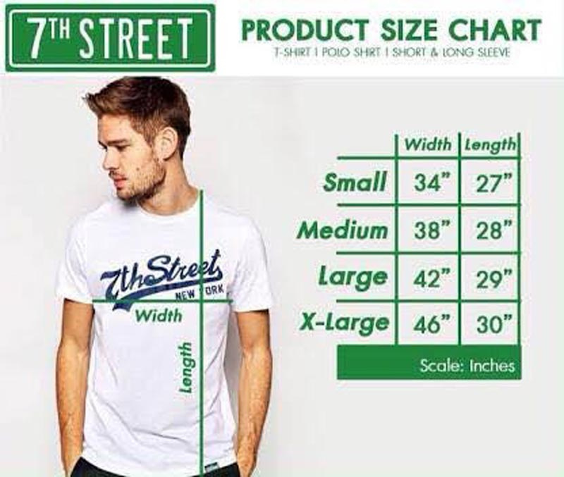 7th Street Size