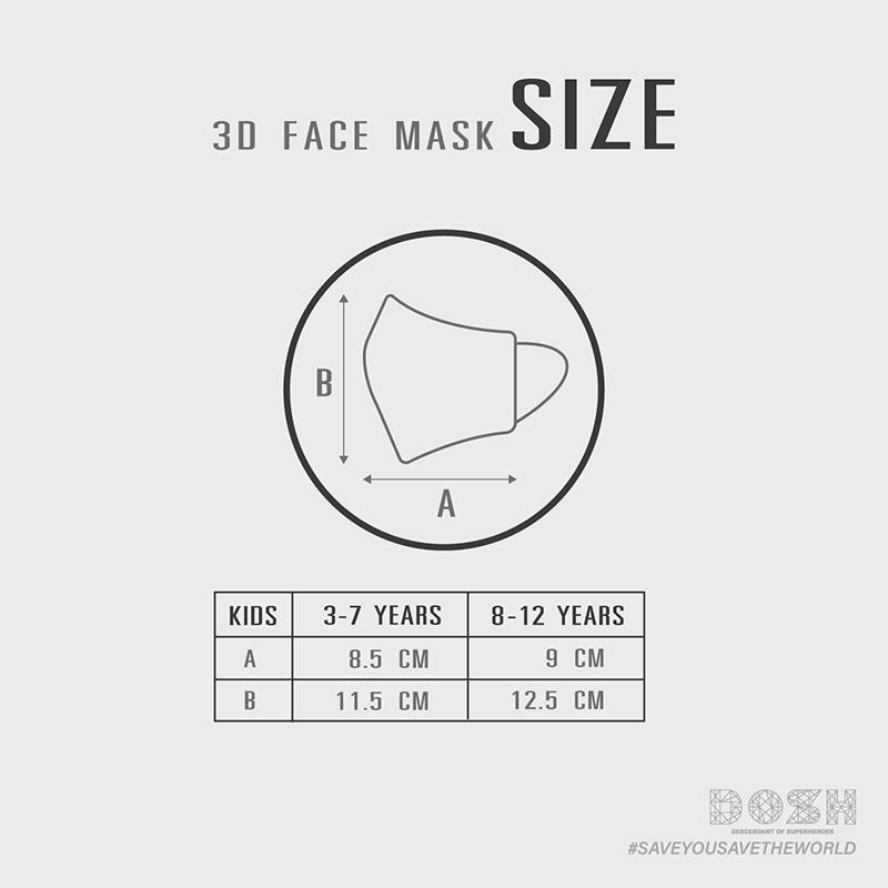Size Dosh Mask