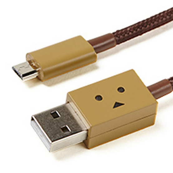 cheero สาย Cable รุ่น DANBOARD USB Cable with Micro USB (CHE-227) (ความยาวของสาย 10 CM)