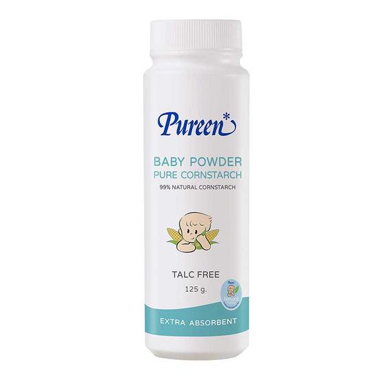 Pureen เพียวรีนเบบี้พาวเดอร์เพียวคอร์นสตาร์ช 125 กรัม
