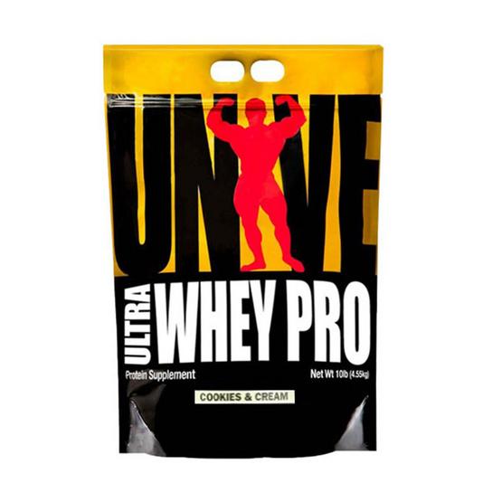 Universal Ultra Whey Pro Cookies & Cream 10 lb โปรตีนคุณภาพสูง เสริมสร้างกล้ามเนื้อ