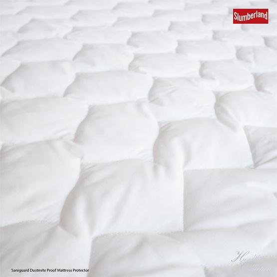 Slumberland Bed Protector  ผ้ารองกันเปื้อนรัดมุมกันไรฝุ่น