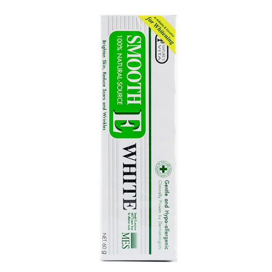 Smooth E Cream Plus White 60g