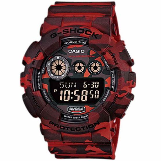 CASIO G-SHOCK นาฬิกาข้อมือ GD-120CM-4DR