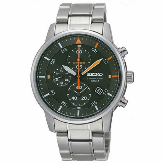 SEIKO นาฬิกาข้อมือ Chronograph Men Watch SNDE05P1