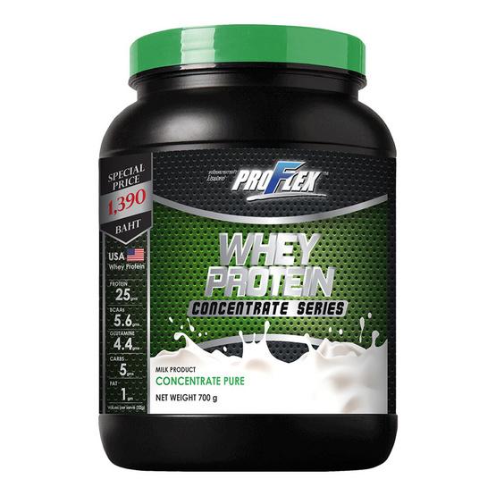 Proflex Concentrate Pure เวย์โปรตีน ขนาด 700 กรัม.
