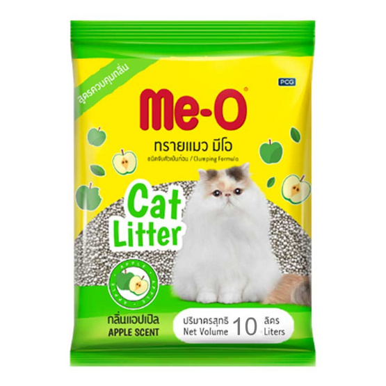 Meo ทรายแมว กลิ่นแอปเปิ้ล ขนาด 10 ลิตร