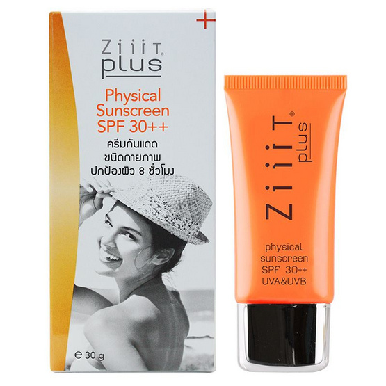 ZiiiT Plus Physical Sun Screen SPF30++30g.