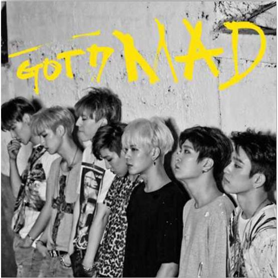CD+DVD GOT7 MAD Thailand Edition