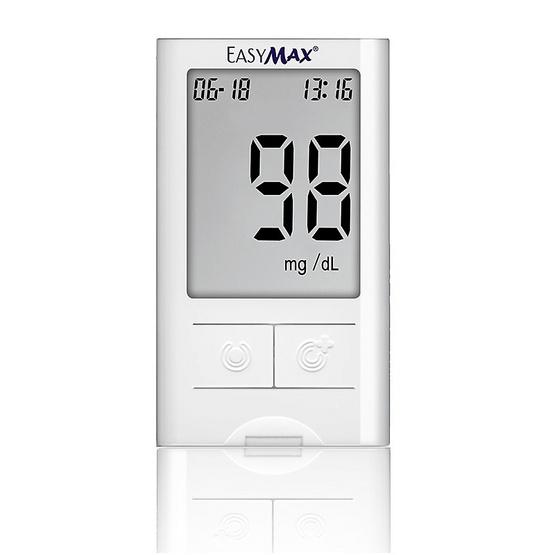 Easymax เครื่องตรวจน้ำตาลในเลือด รุ่น Mini พร้อมแถบในการตรวจ จำนวน 50 ชิ้น