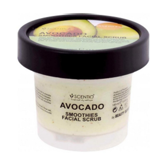 Beauty Buffet Scentio Avocado Brightening Smoothies Facial Scrub 100 ml.