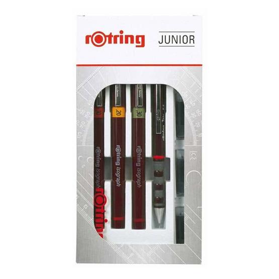 Rotring ชุดปากกาเขียนแบบ Isograph Junior 0.2/0.3/0.5