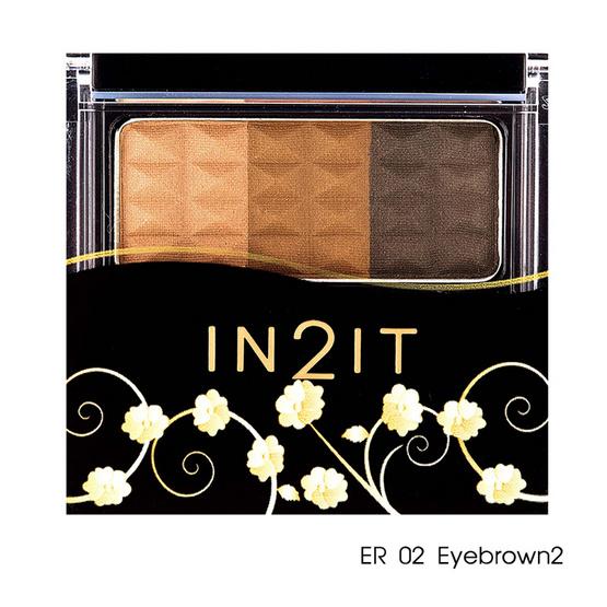 IN2IT Waterproof Eyebrow Color 3.5g #ER02 Eyebrown 2