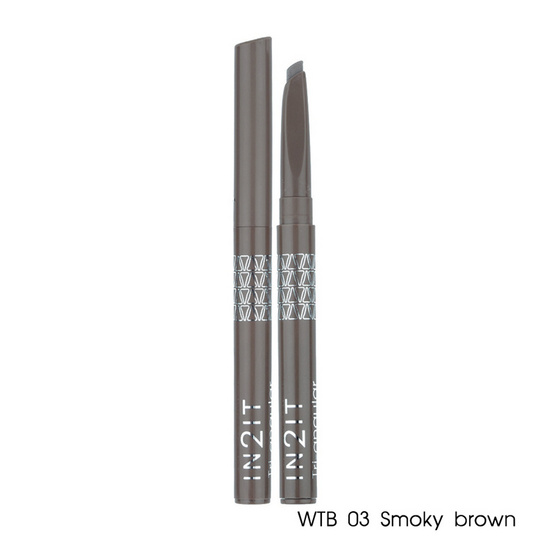 IN2IT Tri-Angular Eyebrow Liner 3.5g #WTB03 Smoky brown