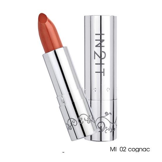 IN2IT Moisture Intense Lipstick 4g #MI02 Cognac