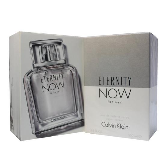 CK Eternity Now For Men EDT 100ml. น้ำหอมแท้ พร้อมกล่อง