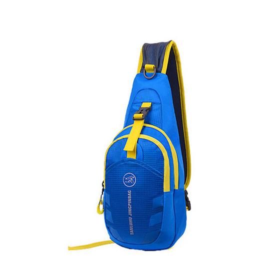 Tanluhu กระเป๋าสะพายข้าง สีฟ้า