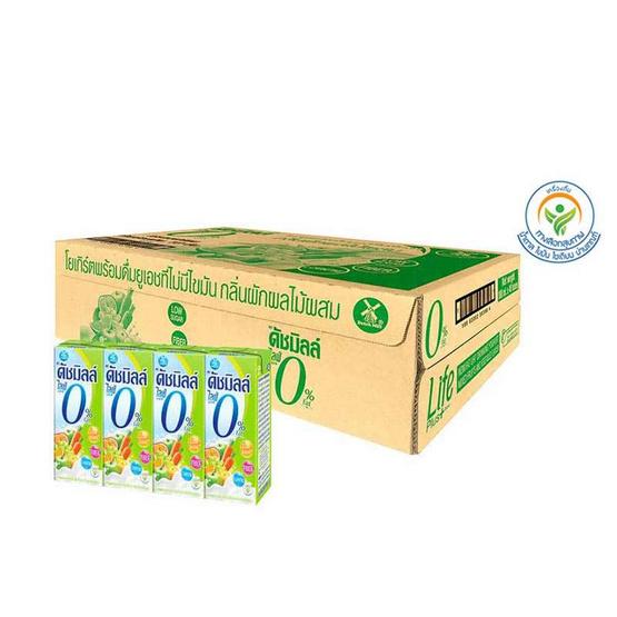 ดัชมิลล์ ไลฟ์พลัส นมเปรี้ยวUHT รสผลไม้รวม 180 มล. (ยกลัง 48 กล่อง)