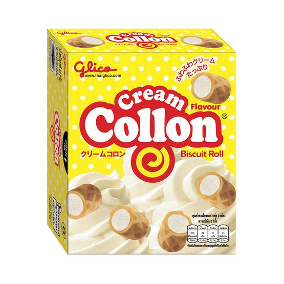 กูลิโกะโคลลอน รสครีม 54 กรัม (10 ชิ้น)