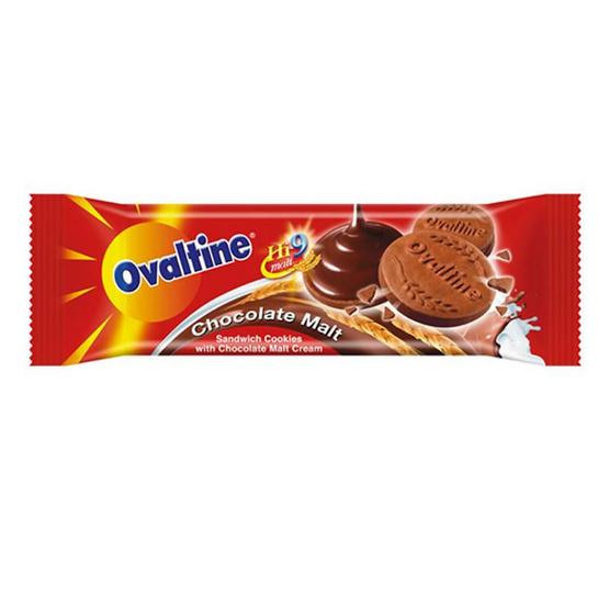 คุกกี้โอวัลติน รสช็อกโกแลต 30 กรัม แพ็ก 12 ชิ้น