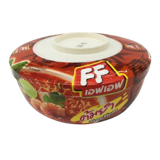 FF เอฟ เอฟ บะหมี่กึ่งสำเร็จรูป รสต้มยำ (ถ้วย) ขนาด 65 g. (6 ชิ้น)