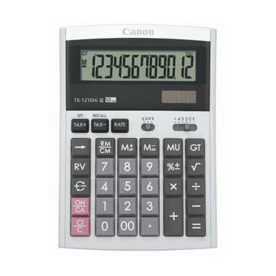 Canon Desktop Calculator รุ่น TX-1210 Hi llI