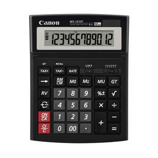 Canon Desktop Calculator รุ่น WS-1210 T