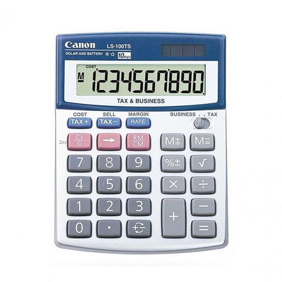 Canon Mini Desktop Calculator รุ่น LS-100TS