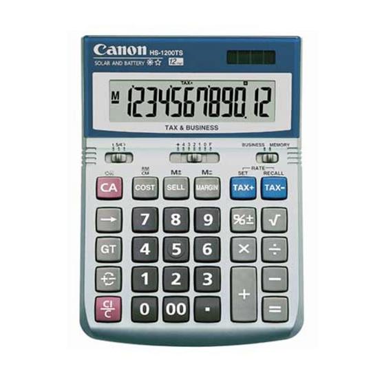 Canon Desktop Calculator รุ่น HS-1200TS
