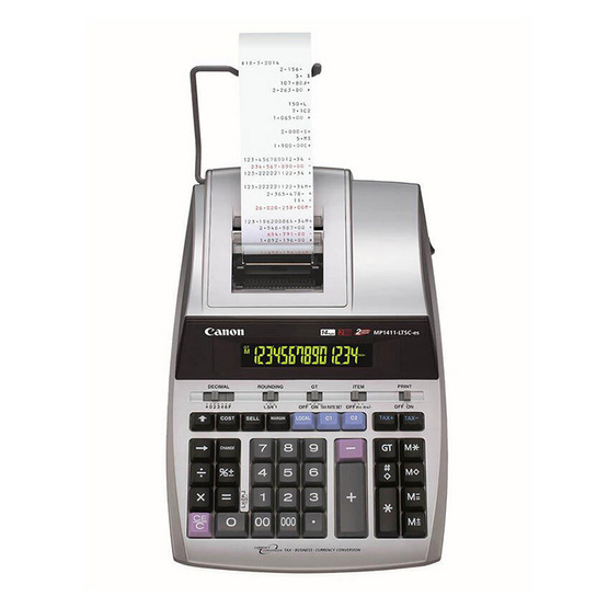 Canon Printing Calculator รุ่น MP1411-LTSC