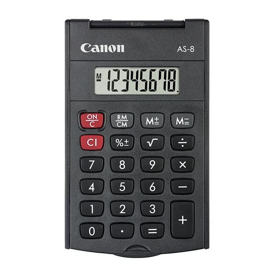 Canon Handheld Calculator รุ่น AS-8