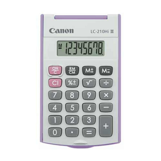 Canon Handheld Calculator รุ่น LC-210Hi lll Purple