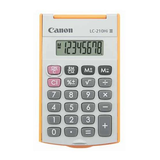 Canon Handheld Calculator รุ่น LC-210Hi lll Orange