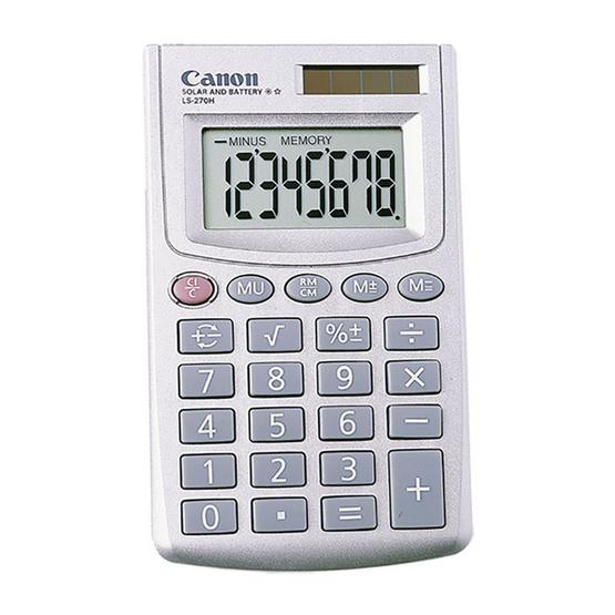Canon Handheld Calculator รุ่น LS-270H