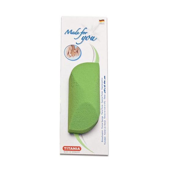 Titania Pumice sponge #Green